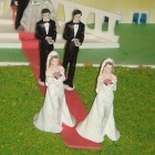Detail from Gay Marriage Cake by Giovanni Dall'Orto